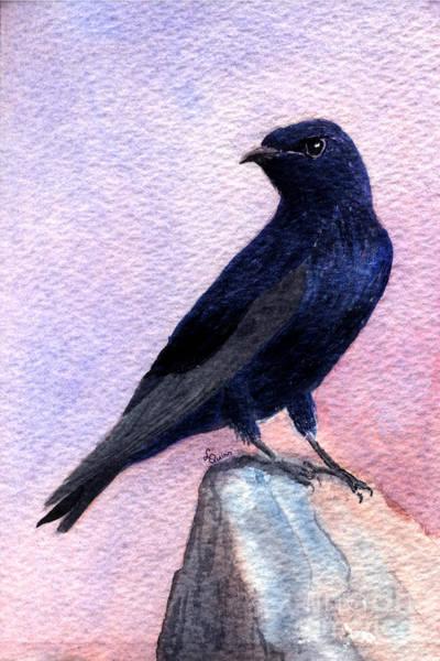 Purple Martin Art Print