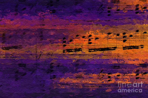 Digital Art - Purple Phrase 2 by Lon Chaffin