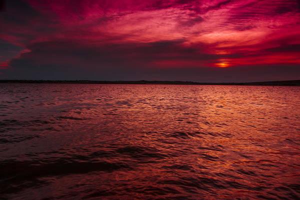 Photograph - Purple Rain Sunset by Jonathan Davison