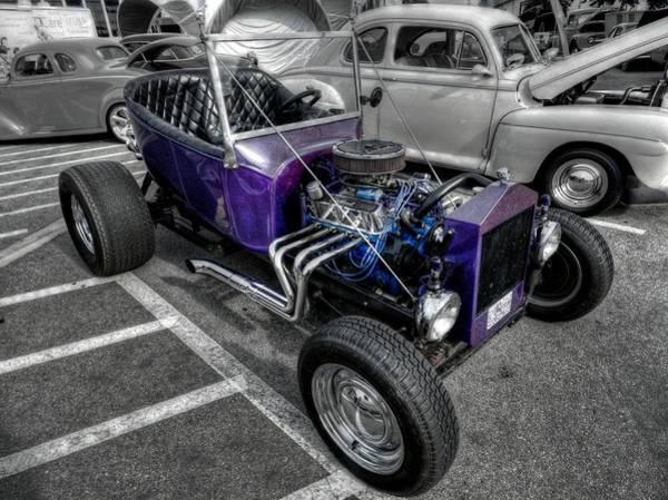 Photograph - Purple Rod 001 by Lance Vaughn