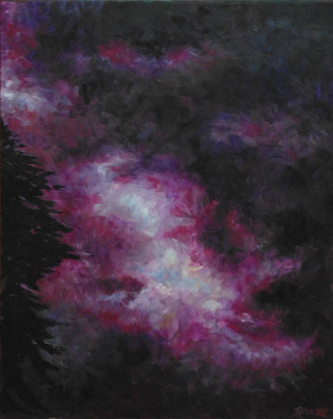 Painting - Purple Storm by Susan Moore