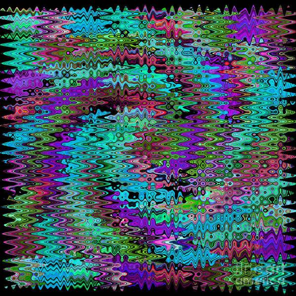 Photograph - Purple Swirl Ripples by Karen Adams