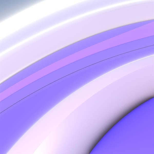 Wall Art - Digital Art - Purple Swirls by Lyle Hatch