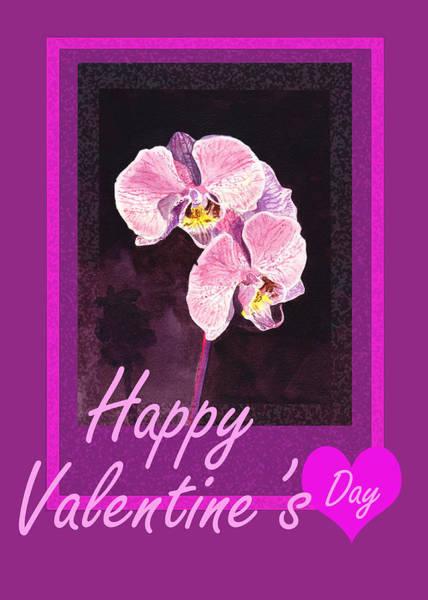 Painting - Purple Valentine by Irina Sztukowski