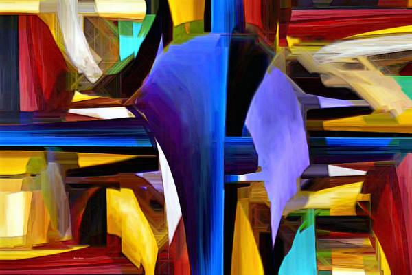 Digital Art - Purple Window by Rafael Salazar