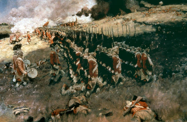Photograph - Pyle: Battle Of Bunker Hill by Granger