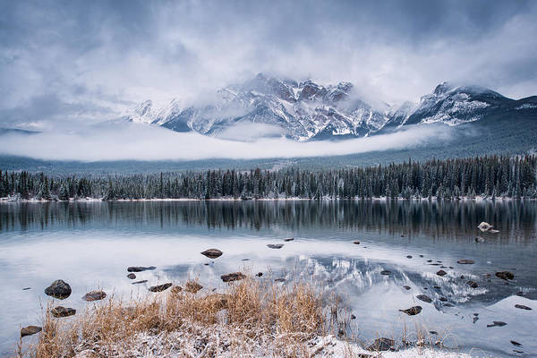 Photograph - Pyramid Mountain by Michael Blanchette
