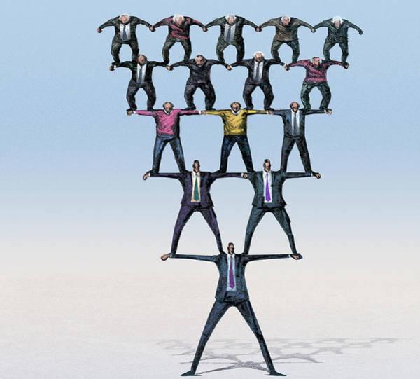 Fraud Photograph - Pyramid Saving Scheme by Smetek