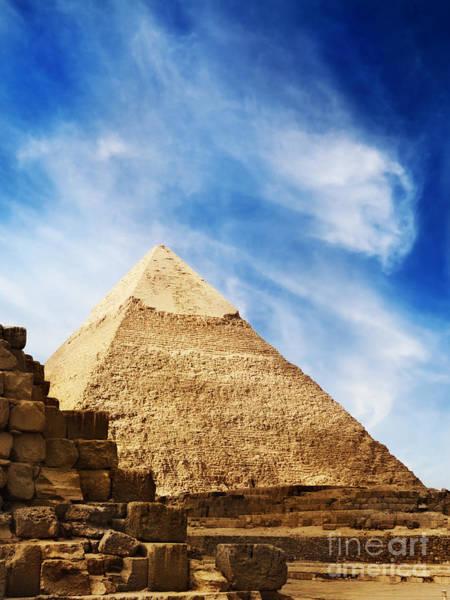 Pyrography - Pyramids In Egypt  by Jelena Jovanovic