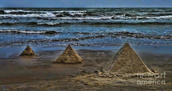 Photograph - Pyramids by Jeff Breiman
