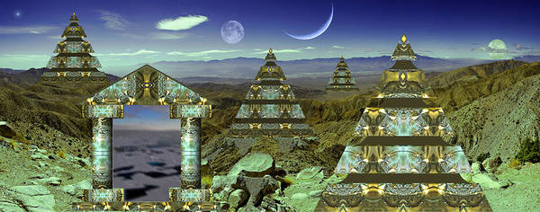 Photograph - Pyramids Of Alpha Nu by Robert Kernodle