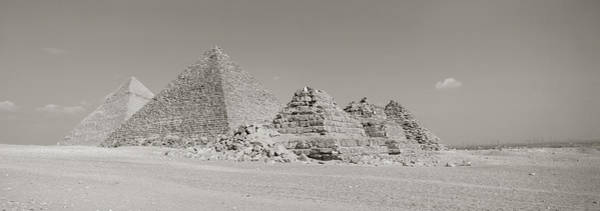 Historic Triangle Photograph - Pyramids Of Giza, Egypt by Panoramic Images
