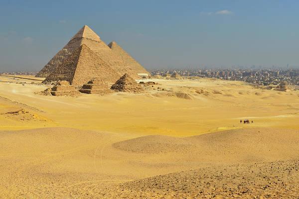 Giza Photograph - Pyramids Of Giza by Raimund Linke