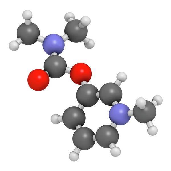 Pharma Wall Art - Photograph - Pyridostigmine Cholinesterase Drug by Molekuul