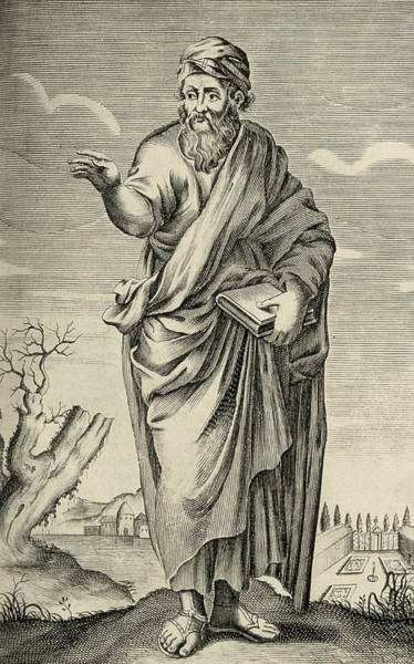 Philosopher Wall Art - Photograph - Pythagoras by George Bernard/science Photo Library