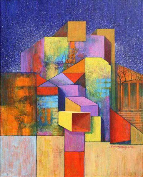 Pythagoras Revisited Art Print by J W Kelly