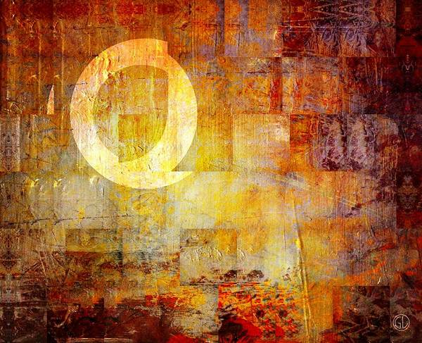 Q Digital Art - Q by Gun Legler