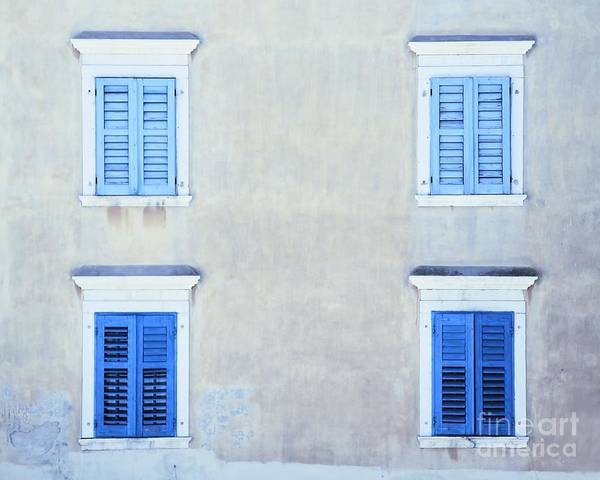Photograph - Quad Windows by Kate McKenna