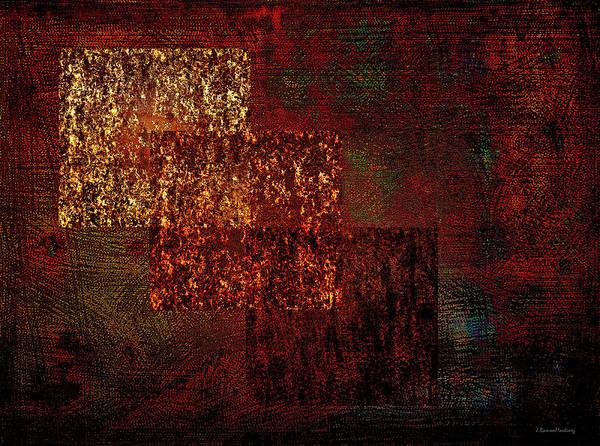 Wall Art - Digital Art - Quadrates by Ramon Martinez