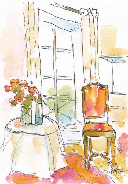 Painting - Quai Aux Fleurs - Paris by Pat Katz