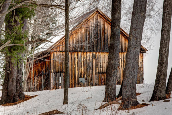 Vintage Conway Photograph - Quaint Countryside Shack by Laura Duhaime