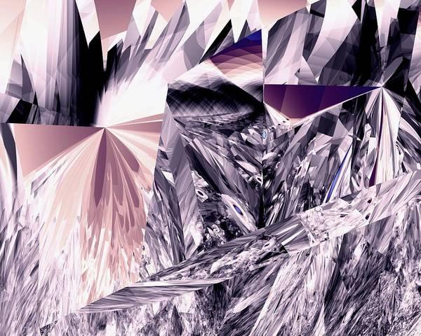 Elation Digital Art - Quantum Cubism by Kenneth Keller