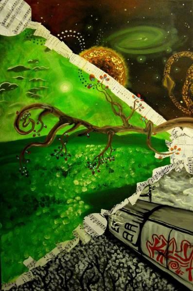 Quantum Physics Painting - Quantum Interstice by Art JWB