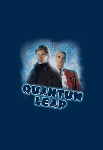 Quantum Digital Art - Quantum Leap - Sam And Al by Brand A