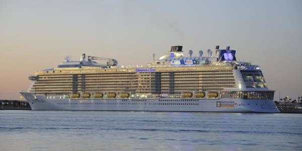Photograph - Quantum Of The Seas At Dusk by Bradford Martin