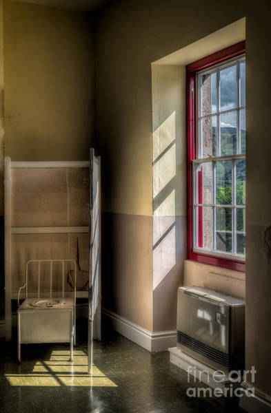 Toilet Photograph - Quarry Hospital by Adrian Evans