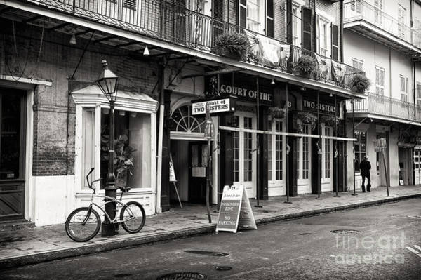Photograph - Quarter Street Mono by John Rizzuto