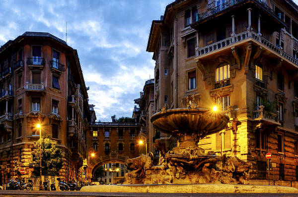 Photograph - Quartiere Coppede' by Fabrizio Troiani