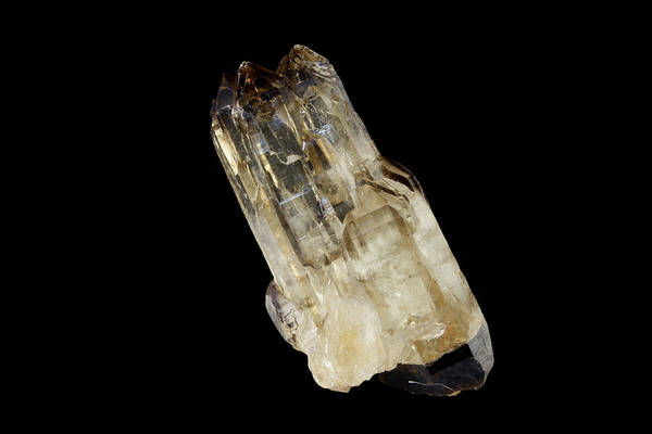 Quartz Photograph - Quartz Crystal by Science Stock Photography