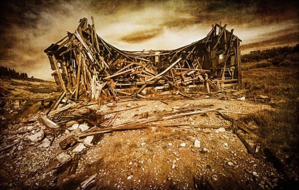 Abandoned House Wall Art - Photograph - Quartz Mountain 9 by YoPedro