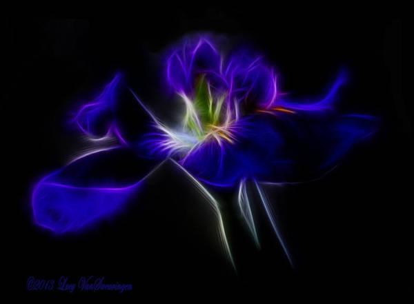 Quasar Iris Art Print