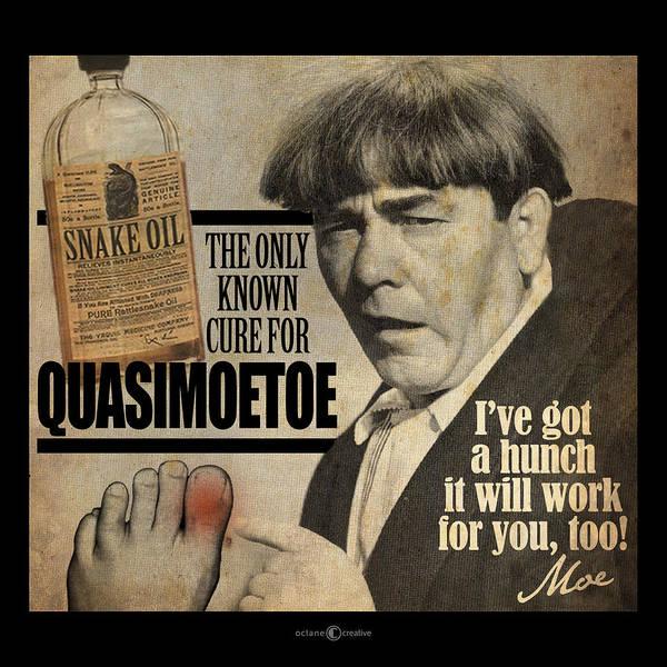 Digital Art - Quasimoetoe Poster by Tim Nyberg