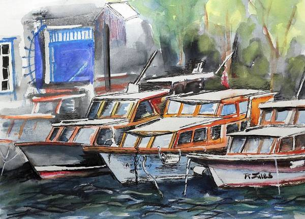 Quayside Art Print