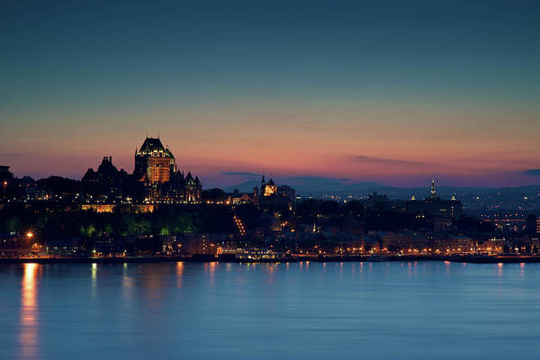 Quebec Photograph - Quebec City by Nicolas Kipourax Paquet