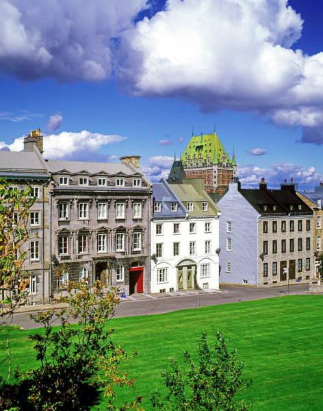 Quebec Photograph - Quebec City, Upper Town, Chateau by Hans-peter Merten