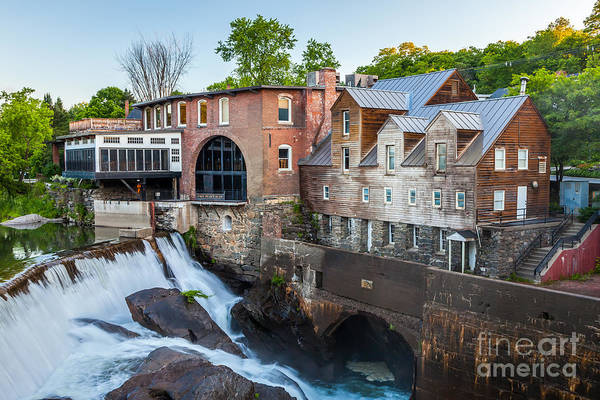 Photograph - Quechee Village Mill by Susan Cole Kelly