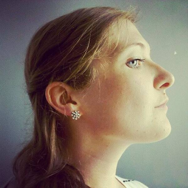 Portrait Photograph - Queen Anne's Lace by Jill Tuinier
