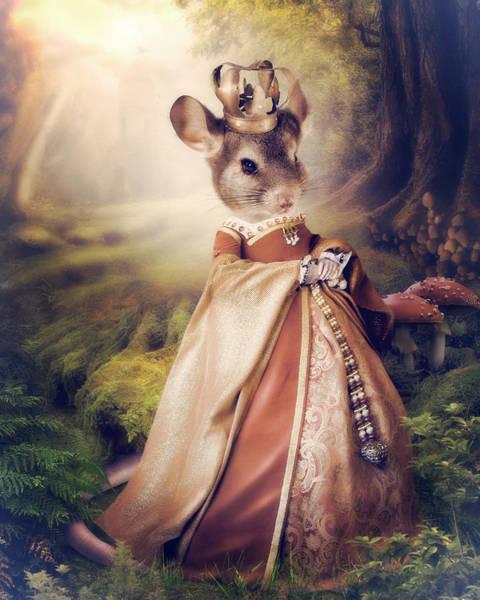 Mice Photograph - Queen by Cindy Grundsten