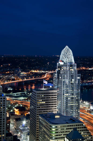 Photograph - Queen City Tower by Russell Todd