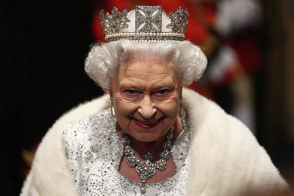 Queen Photograph - Queen Elizabeth II Attends The State by Dan Kitwood