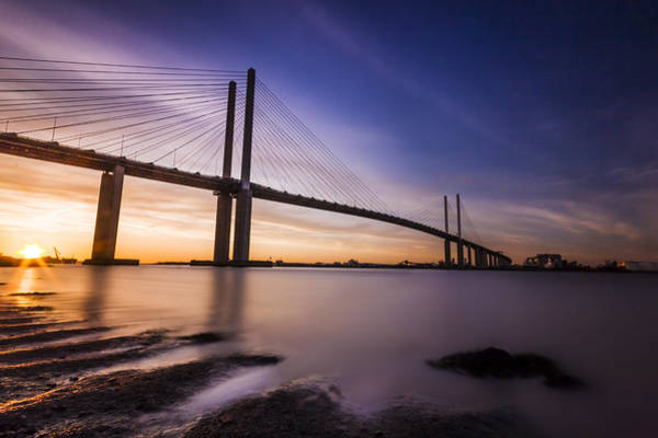 River Thames Photograph - Queen Elizabeth II Bridge by Ian Hufton