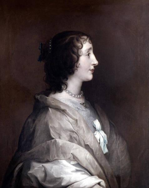 Painting - Queen Henrietta Maria by Granger
