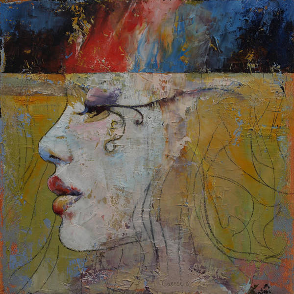 Nile Painting - Queen by Michael Creese
