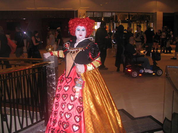 Cosplay Photograph - Queen Of Hearts by Jim Williams