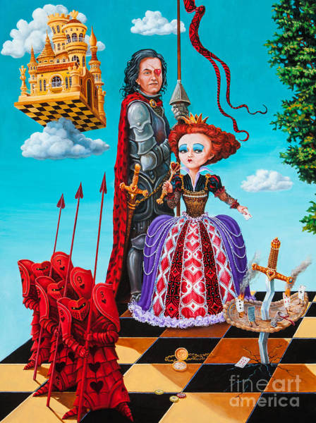 Painting - Queen Of Hearts. Part 1 by Igor Postash