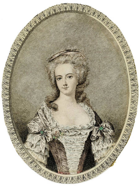 Wall Art - Drawing - Queen Of Louis Xvi, Probably by Mary Evans Picture Library
